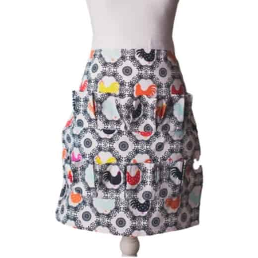 Egg Collecting Apron Adult Half Body Multi Color