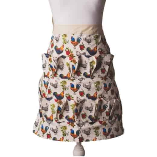 Egg Collecting Apron Adult Half Body Primary Design