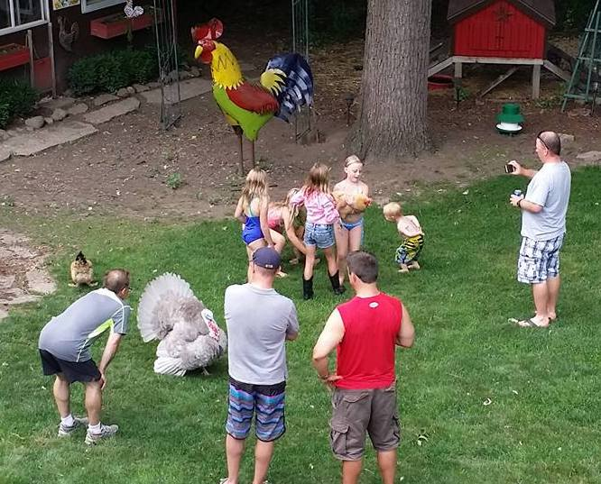 Families with Backyard Chickens