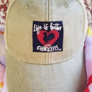Life With Chickens Vintage Trucker Cap