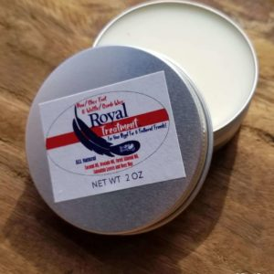 Royal Treatment Paw/Chix Feet & Wattle/Comb Wax for Chickens and Pets