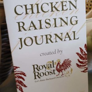 Chicken Raising Journal from Royal Roost